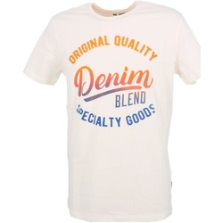 Vêtements Homme T-shirts manches courtes Blend Of America Pago wht mc tee Blanc