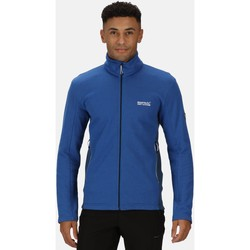 Vêtements Homme Polaires Regatta Highton homme Full Zip Fleece Bleu