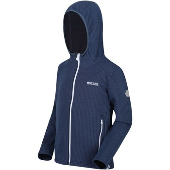 Vêtements Enfant Polaires Regatta enfant Orbiter Full Zip Fleece Bleu