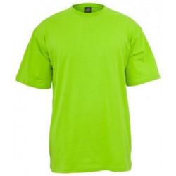 T-shirts manches courtes Urban Classics UrbanClassic T-Shirt  Long T Vert