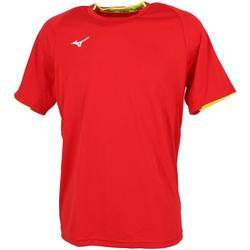 Vêtements Homme T-shirts manches courtes Mizuno Core sleevee tee rouge sport Rouge