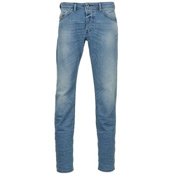 Vêtements Homme Jeans droit Diesel BELHER Bleu clair