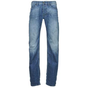 Vêtements Homme Jeans droit Diesel SAFADO Bleu medium
