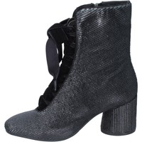 Chaussures Femme Bottines Elvio Zanon bottines textile noir