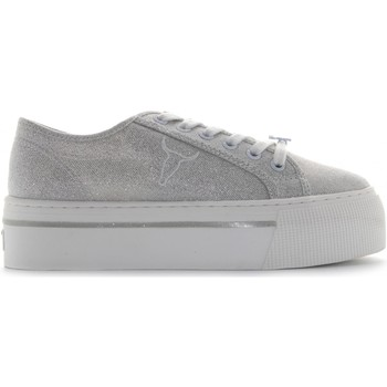 Chaussures Femme Baskets basses Windsor Smith RUBY Argento