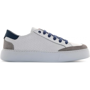 Chaussures Homme Baskets basses Exton 862 Bianco / blu