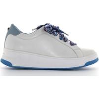 Chaussures Femme Baskets basses Apepazza S0BASKET04/FLW Bianco / blu