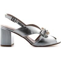 Chaussures Femme Sandales et Nu-pieds Valleverde 45202 Argento