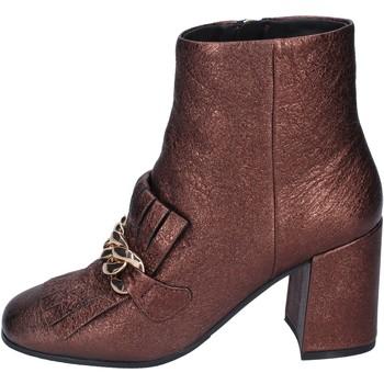 Chaussures Femme Bottines Elvio Zanon bottines cuir marron