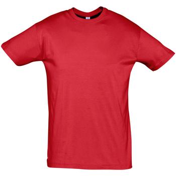 Vêtements Homme T-shirts manches courtes Sols REGENT COLORS MEN Rojo