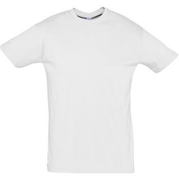 Vêtements Homme T-shirts manches courtes Sols REGENT COLORS MEN Blanco