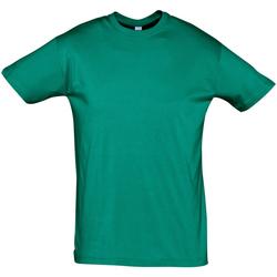 Vêtements Homme T-shirts manches courtes Sols REGENT COLORS MEN Verde