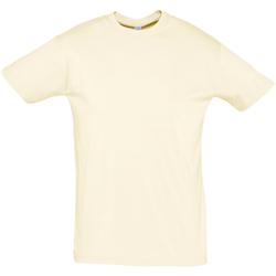 Vêtements Homme T-shirts manches courtes Sols REGENT COLORS MEN Beige