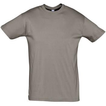 Vêtements Homme T-shirts manches courtes Sols REGENT COLORS MEN Gris