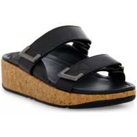 Chaussures Femme Mules FitFlop FIT FLOP  REMI ADJUSTABLE SLIDES Nero
