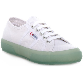 Chaussures Femme Baskets basses Superga W01 LAME WEDGE Bianco