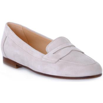 Chaussures Femme Mocassins Frau CAMOSCIO CORDA Beige