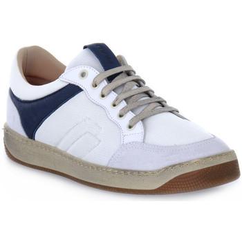 Chaussures Homme Baskets basses Frau TECNO WHITE Bianco