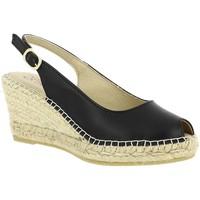 Chaussures Femme Sandales et Nu-pieds La Maison De L'espadrille 950 noir