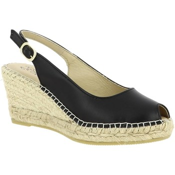 Chaussures Femme Sandales et Nu-pieds La Maison De L'espadrille ESPADRILLE 950 NOIR