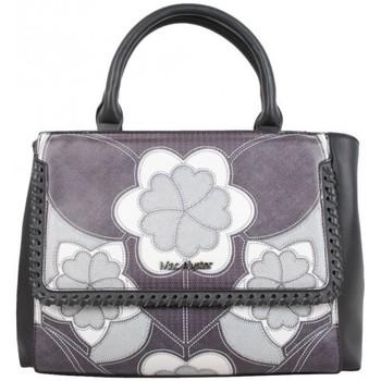 Sacs Femme Sacs porté main Mac Alyster Sac à main  Impression noir motif fleur Noir