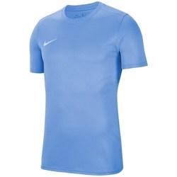Vêtements Homme T-shirts manches courtes Nike Park Vii Bleu