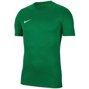 Vêtements Homme T-shirts manches courtes Nike Park Vii Vert