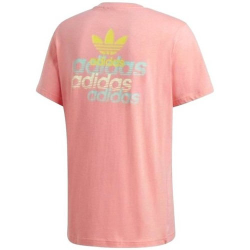 Front Back Tee  adidas Originals  t-shirts manches courtes  homme  rose