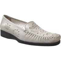 Chaussures Femme Mocassins Marco JOSEPHINE Beige cuir