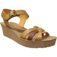 Chaussures Femme Sandales et Nu-pieds Mobils By Mephisto Maryline Jaune cuir