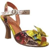 Chaussures Femme Sandales et Nu-pieds Laura Vita Hoco 04 Multi bleu cuir