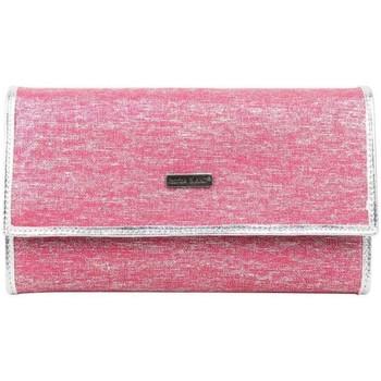 Sacs Femme Portefeuilles Patrick Blanc Tout en un  toile rose et argent Multicolor