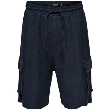 Vêtements Homme Shorts / Bermudas Only & Sons 22016094 bleu