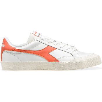 Chaussures Baskets basses Diadora MELODY LEATHER DIRTY Blanc