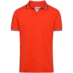 Vêtements Homme Polos manches courtes Diadora POLO PQ Rouge