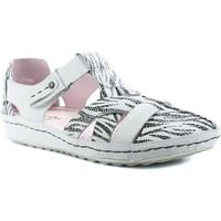 Chaussures Femme Sandales et Nu-pieds Maciejka 01403-11 Blanc
