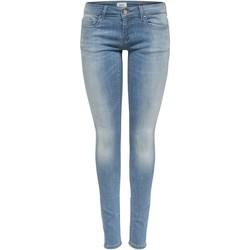 Vêtements Femme Jeans skinny Only 15177949 bleu