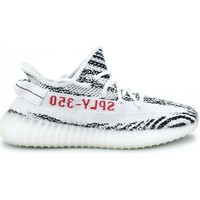 Chaussures Baskets mode adidas Originals Basket  Yeezy Boost 350 V2 Zebra Blanc Cp9654 Blanc