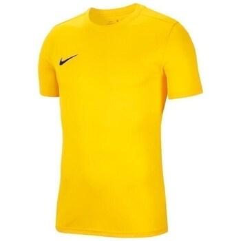 Vêtements Garçon T-shirts manches courtes Nike JR Dry Park Vii Jaune