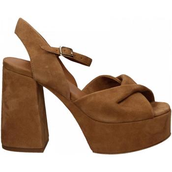 Chaussures Femme Sandales et Nu-pieds Vic NIZZA biscotto