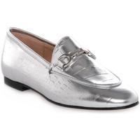 Chaussures Femme Mocassins Priv Lab LAMINATO ARGENTO Grigio