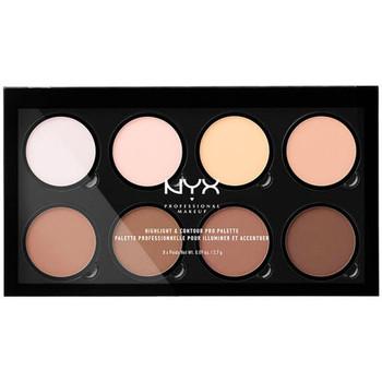 Beauté Femme Enlumineurs Nyx Professional Make Up Highlight & Contour Pro Palette 8x2,7 Gr