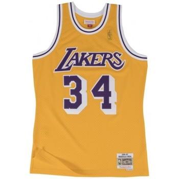 Vêtements Homme Débardeurs / T-shirts sans manche Mitchell And Ness Maillot NBA Shaquille O'Neal L Multicolore