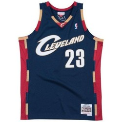 Vêtements Débardeurs / T-shirts sans manche Mitchell And Ness Maillot NBA Lebron James Cleve Multicolore