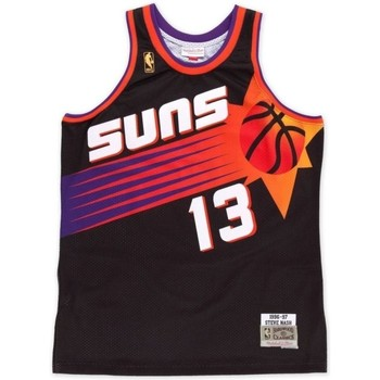 Vêtements Débardeurs / T-shirts sans manche Mitchell And Ness Maillot NBA swingman Steve Nas Multicolore