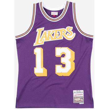 Vêtements T-shirts manches courtes Mitchell And Ness Maillot NBA Wilt Chamberlain L Multicolore