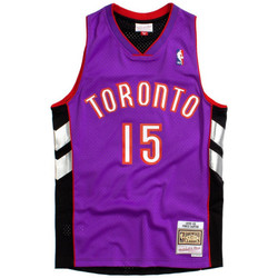 Vêtements T-shirts manches courtes Mitchell And Ness Maillot NBA swingman Vince Car Multicolore