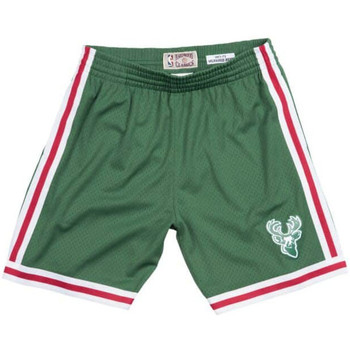 Vêtements Shorts / Bermudas Mitchell And Ness Short NBA Milwaukee Bucks 1971 Multicolore