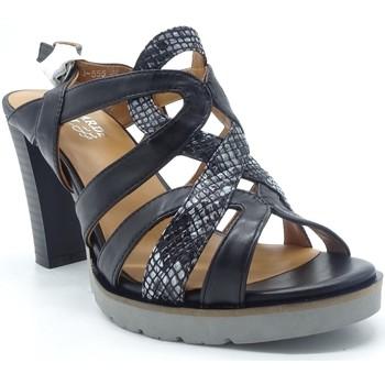 Chaussures Femme Sandales et Nu-pieds Regarde Le Ciel SYLVIE 63 NOIR