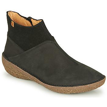 Chaussures Femme Boots El Naturalista BORAGO Noir